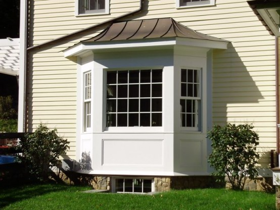 white window frames